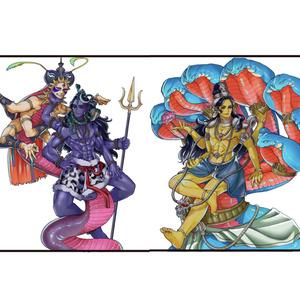 インド神アクリルフィギュア