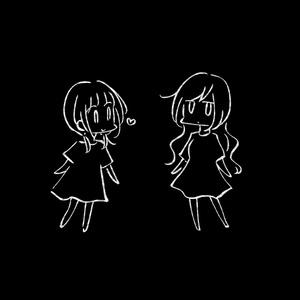 ゆるいべやTシャツ(黒)