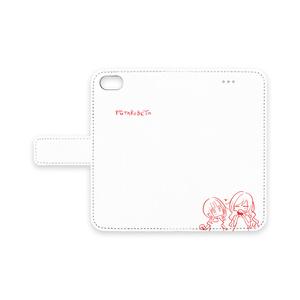 ゆるいべやiPhone手帳型ケース