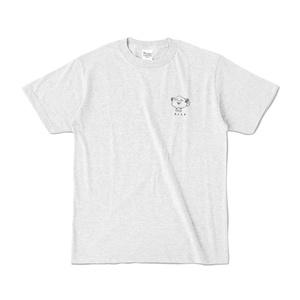アンゴラ犬のわん「まってるよTシャツ」