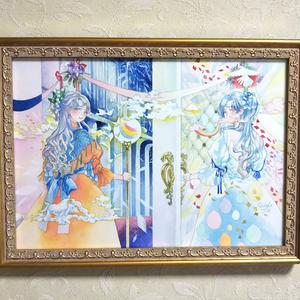 原画「mirror」