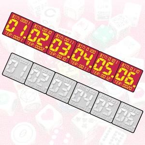 7セグメント数字ダイス (1個)