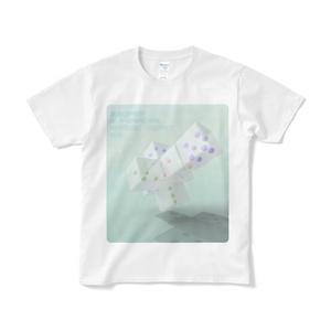 Tシャツ・四次元超立方体さいころの展開図