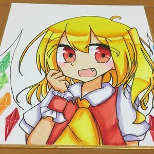 フランちゃん色紙(小)