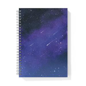 流れ星のリングノート