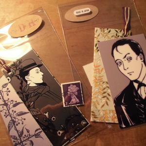 「ダークサイド・ホームズ」栞+メッセージカード+使用済切手