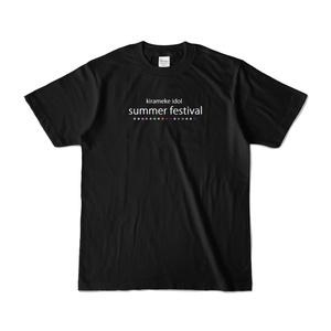 「きらめけ!アイドル!!」きらドル☆フェス2019記念カラーTシャツ