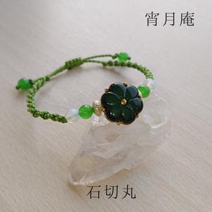刀剣男士イメージ 花ボタンブレスレット