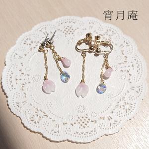 桜イヤリング・ピアス