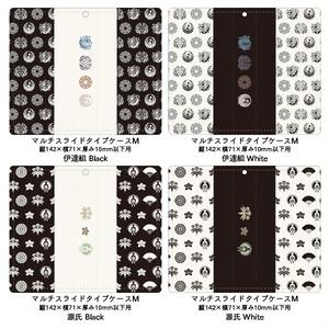 伊達組&源氏 手帳型 iPhone/AndroidスマホケースL