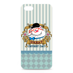 ♡ビクトリアンスタイルのグレート太猫♡iPhoneケース