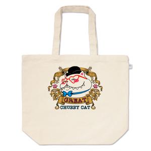 ♡ビクトリアンスタイルのグレート太猫♡トートバッグ