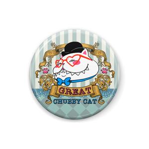 ♡ビクトリアンスタイルのグレート太猫♡缶バッジ