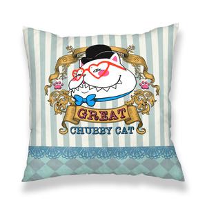 ♡ビクトリアンスタイルのグレート太猫♡クッションカバー