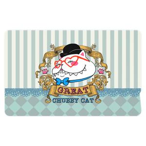 ♡ビクトリアンスタイルのグレート太猫♡ICカードステッカー