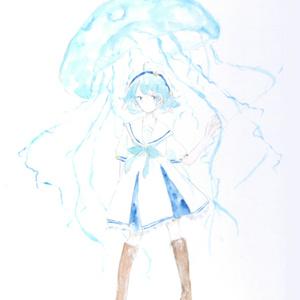【受注生産】キャラクター指定手描き色紙(1人5枚まで)