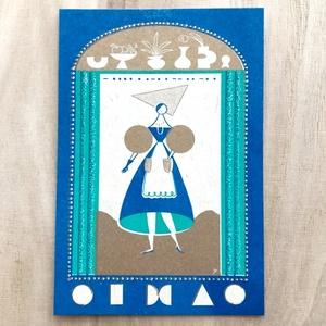 Post card(とある惑星に住む少女)