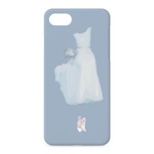 My white dress iPhoneケース - iPhone 8 / 7 - 正面印刷のみ