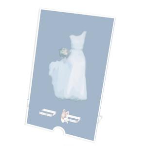 My white dress アクリルスマホスタンド