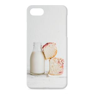 Milk & bread iPhoneケース - iPhone 8 / 7 - 正面印刷のみ