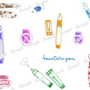 トートバッグ 『fountain pen』