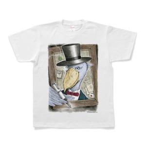 Tシャツ『ハシビロコウ紳士』