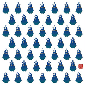 ミトラペンギンタオル