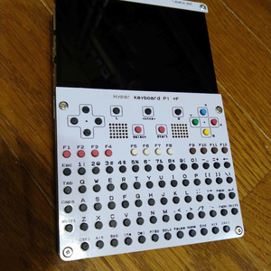 Hyper Keyboard pi +F (White ONLY) DISCONTINUED, current stock only.