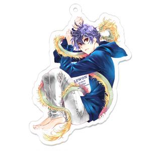 【LUWON】黒矢アクリルキーホルダー