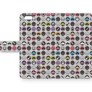 おそ松さん六つ子手帳型iPhoneケース