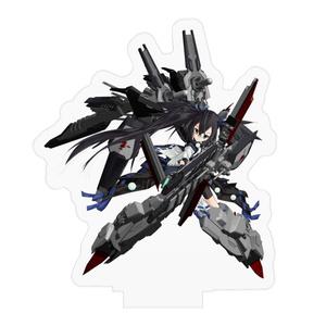 【艦魂】アクリルフィギュア「しらね型ヘリコプター搭載護衛艦 くらま[III]」