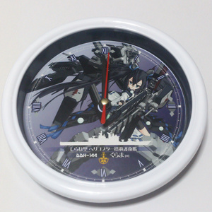 【艦魂】壁掛け時計「しらね型ヘリ搭載護衛艦 くらま[III]」