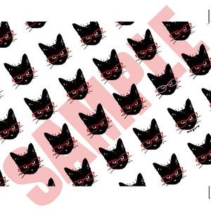 黒猫メガネ拭き