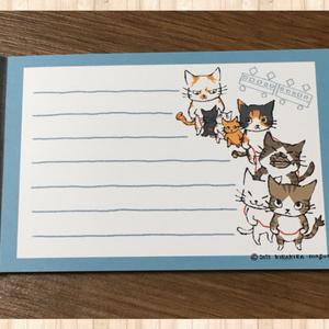 電車ごっこ猫のメモ帳