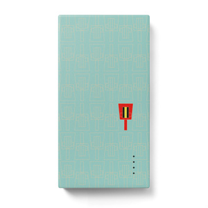 モバイリバッテリー鳴子(ミントアイス)
