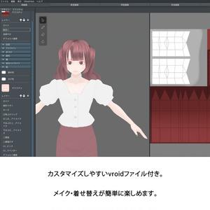 VRoid製3Dアバター「竹宮りな」