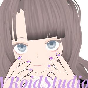 【VRoid】あまあまきらきらネイル【無料】