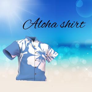 【無料版有】アロハシャツ【VRoid】