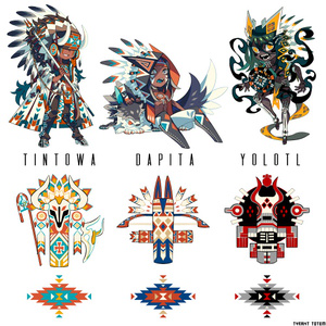 Totem&Chiefs Sticker