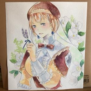 水彩原画-E