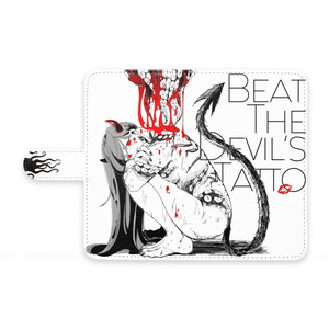 【Beat The Devil's tattoo】 手帳型Androidケース B