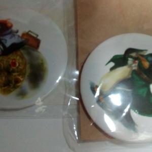 蒸気氷鳥缶バッチ(画像左側のみ)