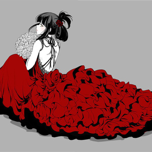 黒川千秋イラスト集~Le Modèle Rouge【ネコポス発送】