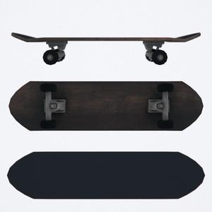 狐家スケートボード (改変が楽になるシェーダー付)