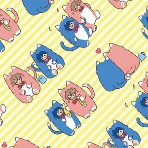 猫櫂アイふわふわブランケット
