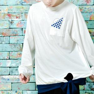 まふてるポケットTシャツ(オフホワイト)