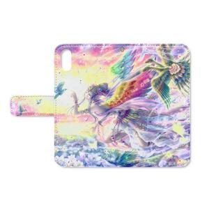 Paradise Birds スマホケース(iPhoneX)