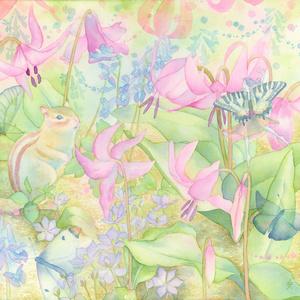 原画「いちどきりの春の日に」