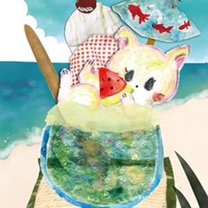 ■ポストカード■ 和ソーダパフェ