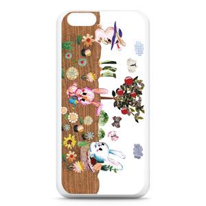 iPhone6ケース 「うさぎの畑」 by なおちる